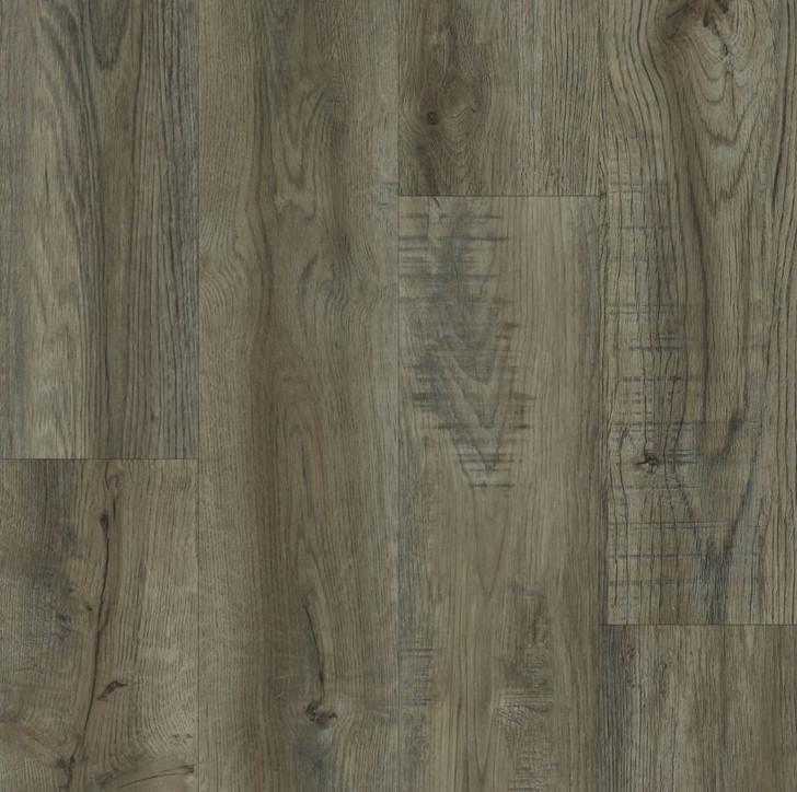 "Happy Feet Stone Elegance Colonial Pecan 7"" Rigid Core Luxury Vinyl Plank (HF454)"