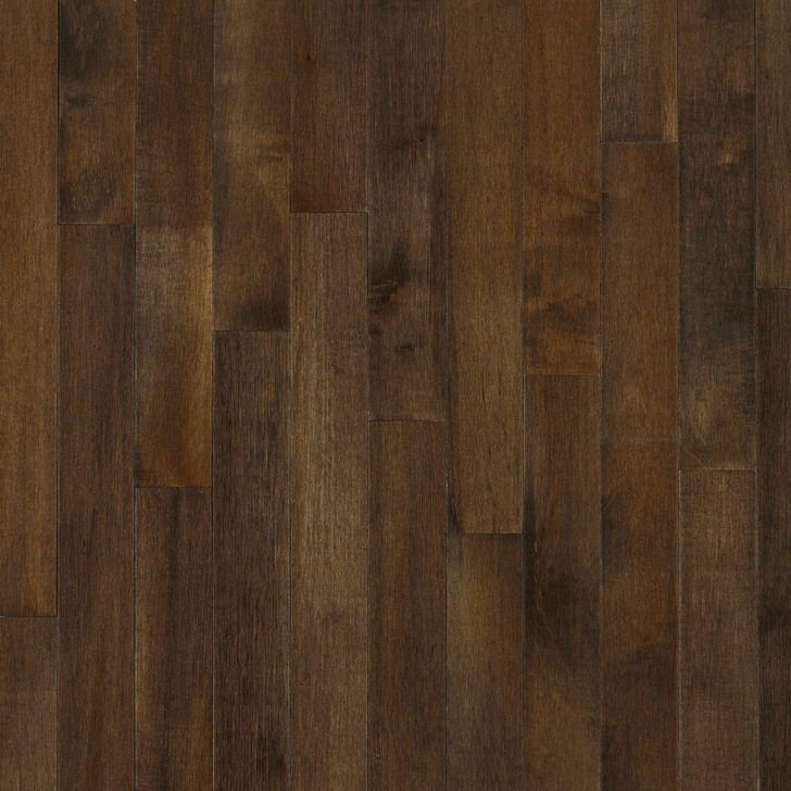 """Bruce Solid Hardwood Cappuccino Maple 3 1/4"""" - 242 SF Free Shipping"""