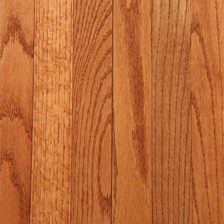 "Bruce Valley View 3 1/4"" Gunstock Oak Solid Hardwood"