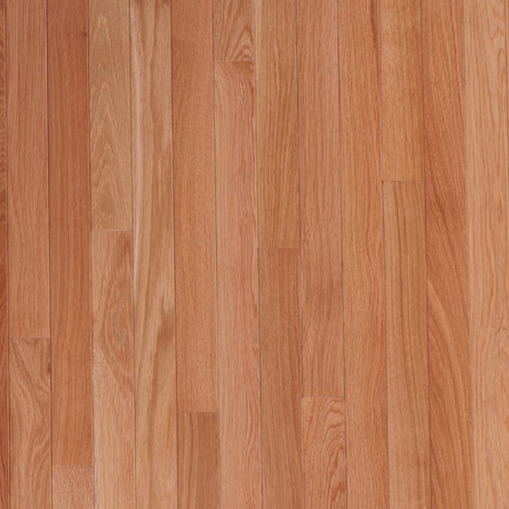 "Bruce Fulton Strip 2 1/4"" Seashell Oak Solid Hardwood By Carton"
