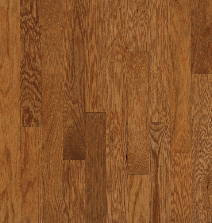 """Armstrong Solid White Oak Plank Yorkshire 2 1/4"""" Auburn"""