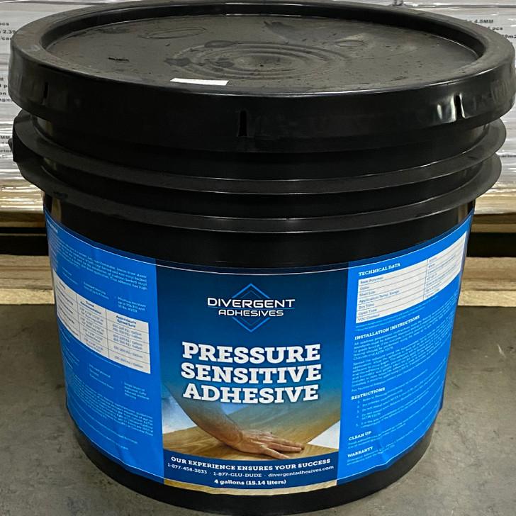 Divergent Pressure Sensitive Vinyl Adhesive