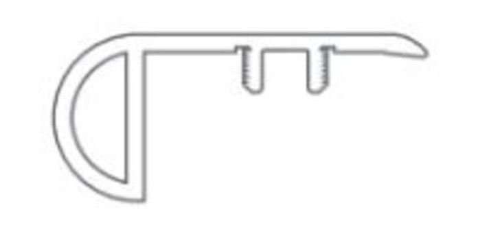 Shaw LVT Overlap Stairnose