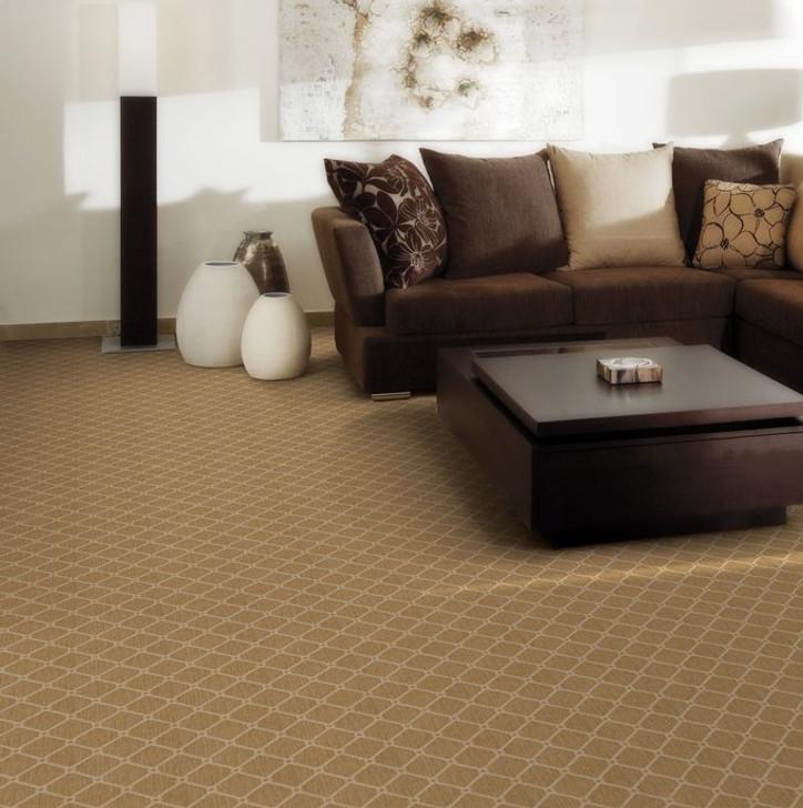 Stanton Karaman Seda Wool Fiber Residential Carpet Room Scene
