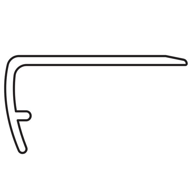COREtec Vinyl WPC Overlap Stair Nose