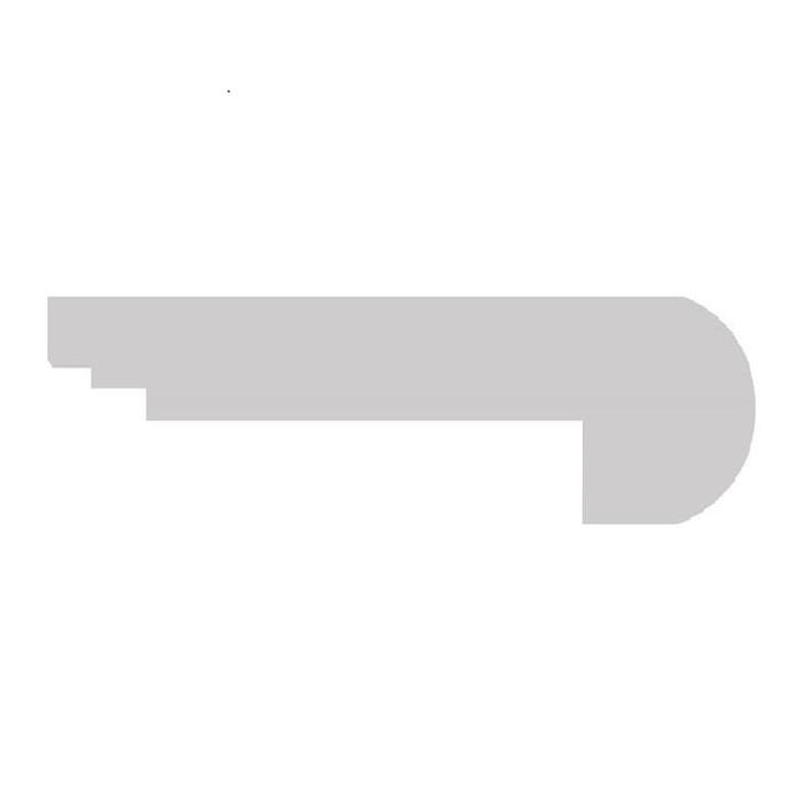 COREtec Vinyl WPC Flush Stair Nose
