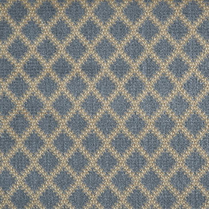 Stanton Pacific Coast Dana Point Harbor Blue Wool Blend Residential Carpet