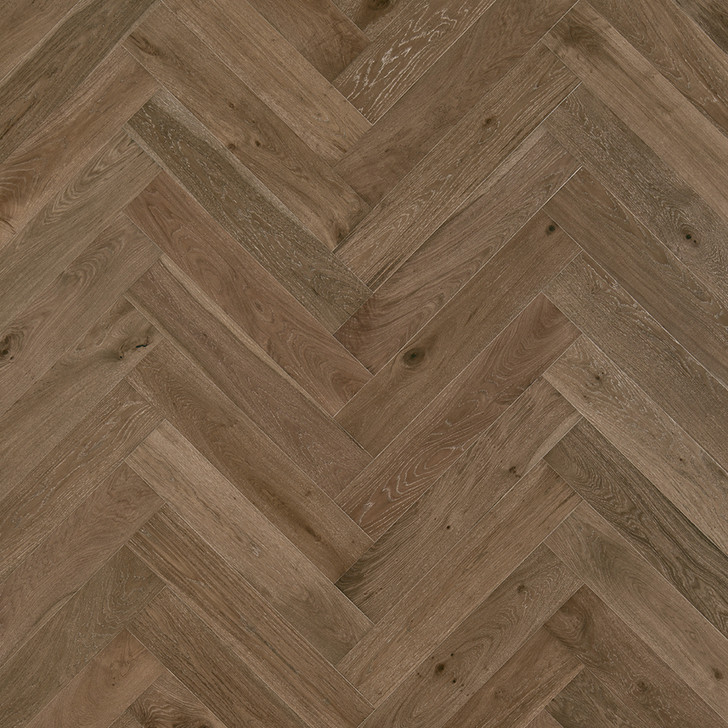 "Mannington Hand-Crafted Latitude Park City Herringbone 7 1/2"" Engineered Hardwood"