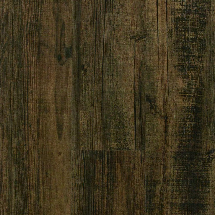 "Tarkett Aloft Gluedown Long Pine Black & Tan 6"" Luxury Vinyl Plank"