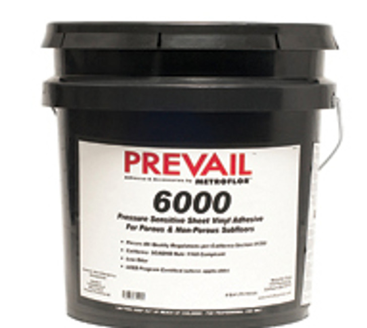 Metroflor Prevail 6000 Pressure Sensitive Vinyl 1 Gallon Adhesive