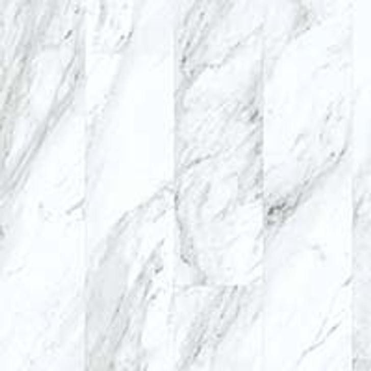 Congoleum Triversa Prime Carrara White Frost Size TX7 Luxury Vinyl Tile