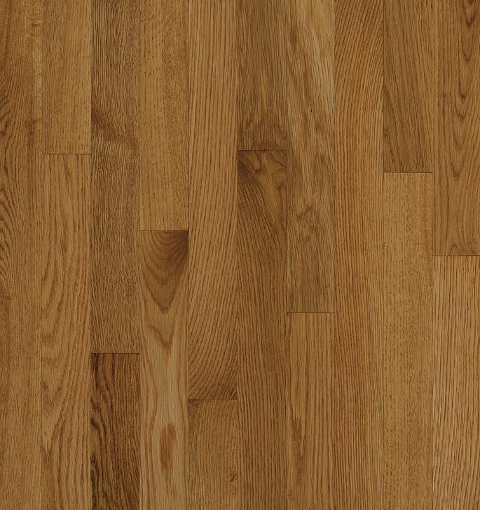 "Bruce Bristol Plank 3 1/4"" Spice Oak Solid"