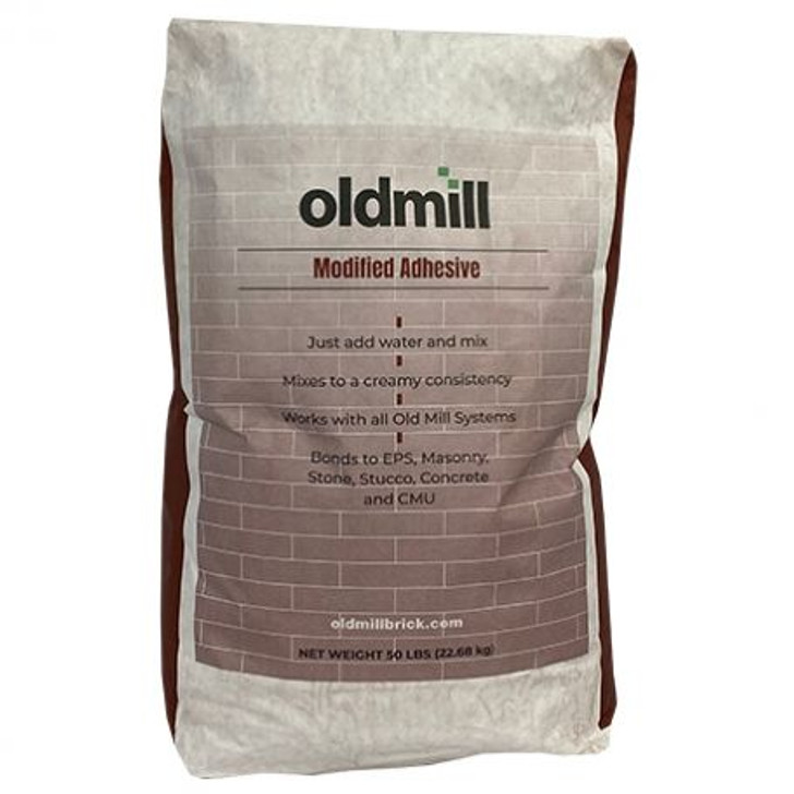Old Mill Brick Premium Adhesive 50 Lb Bag
