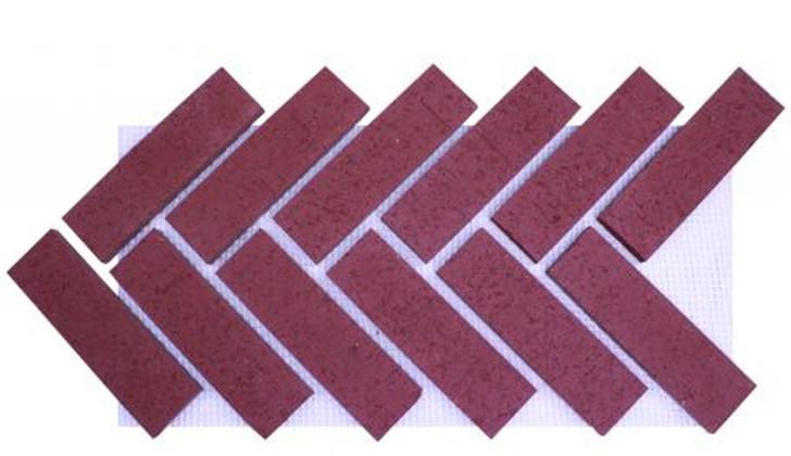 Old Mill Brick Modern Herringbone Sheet