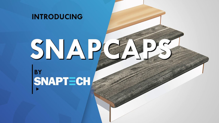 SnapCaps Custom Vinyl Stairnose