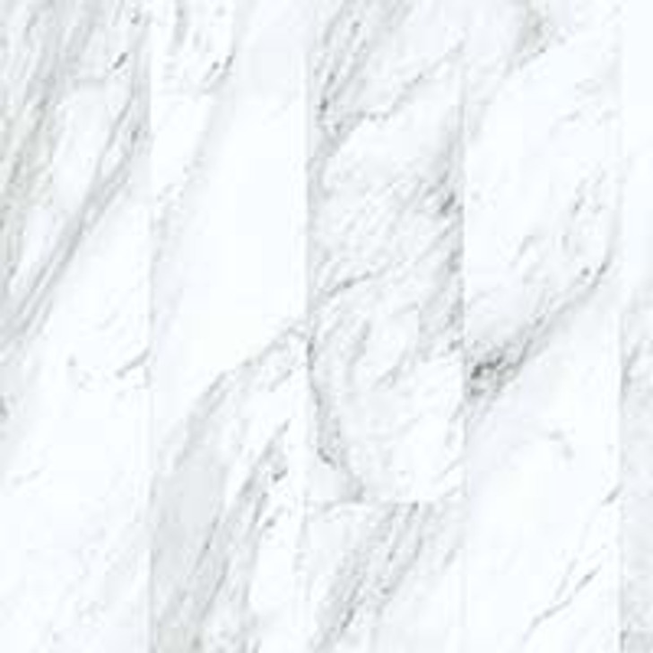 "Congoleum Triversa Prime Carrara White Frost 18"" TX701 Luxury Vinyl Plank"