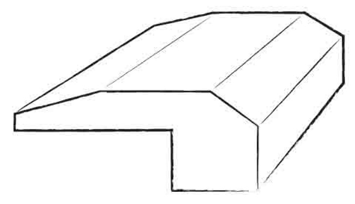 "Robbins Engineered Hardwood Threshold 78"""