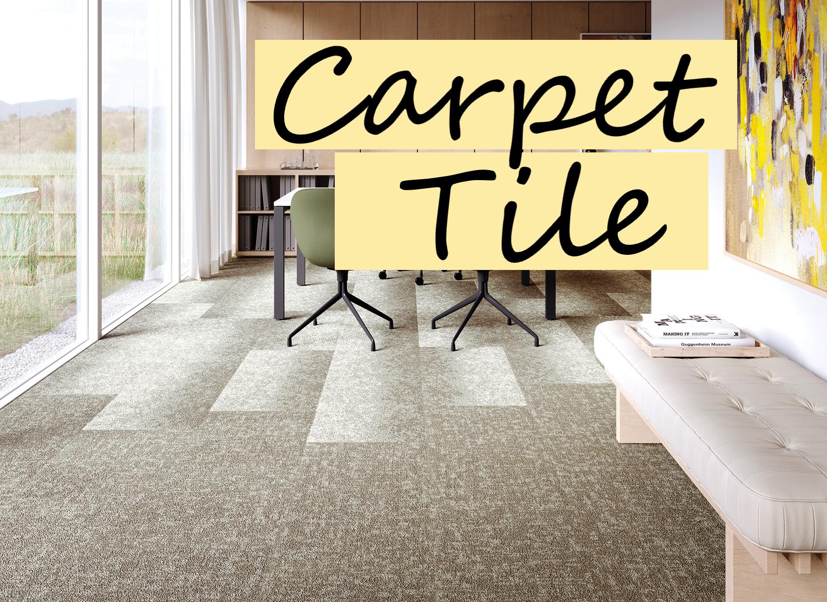 Carpet Tile Versatility