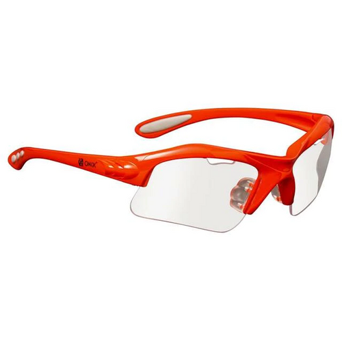 Onix Eagle Eyewear Orange (comes with Clear, Sunglass & Blue tint lens and pouch)