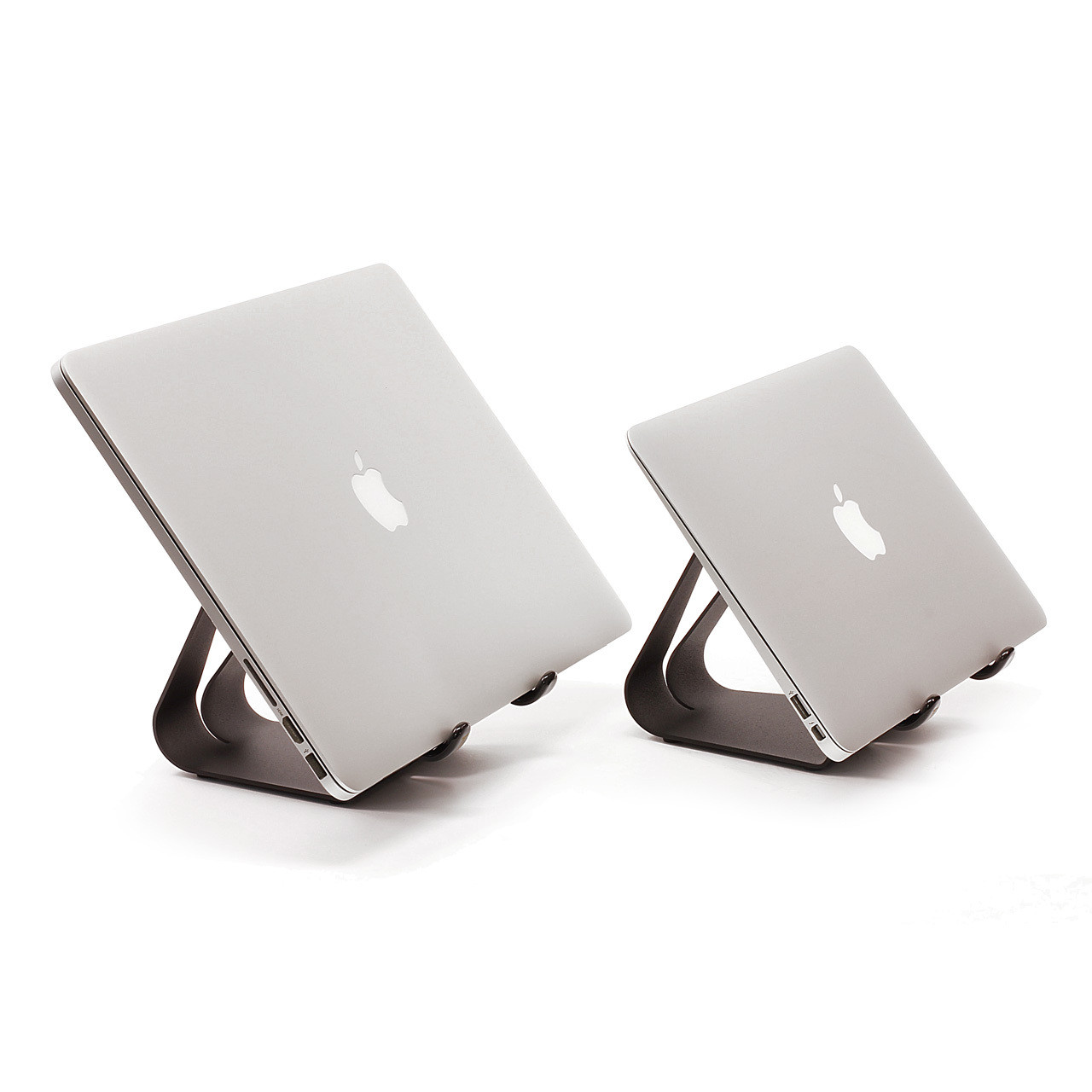 Laptop stand for external monitor use