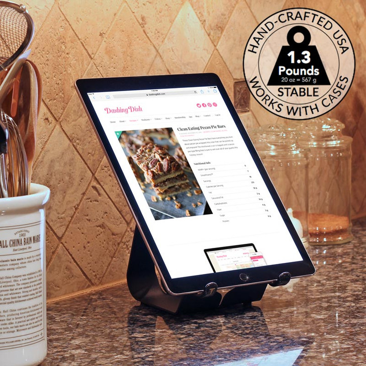 iPad Pro 12.9 Stand Simplex in the Kitchen Works with all Cases & Skins
