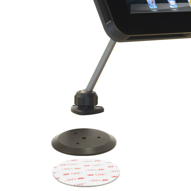 PED4 EnCloz Shown with optional AdPad 300 adhesive mount