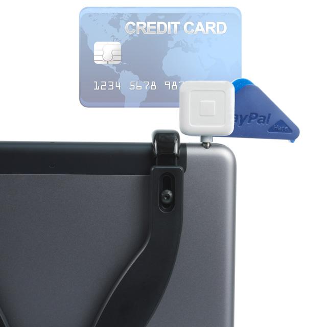 iPad Pivoting Tripod Mount With Card Reader