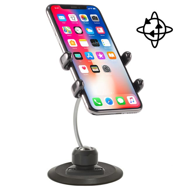 iPhone Car Mount for Xs, Xs Max, Xr, X, 8, 7, 6, SE and all Plus sizes