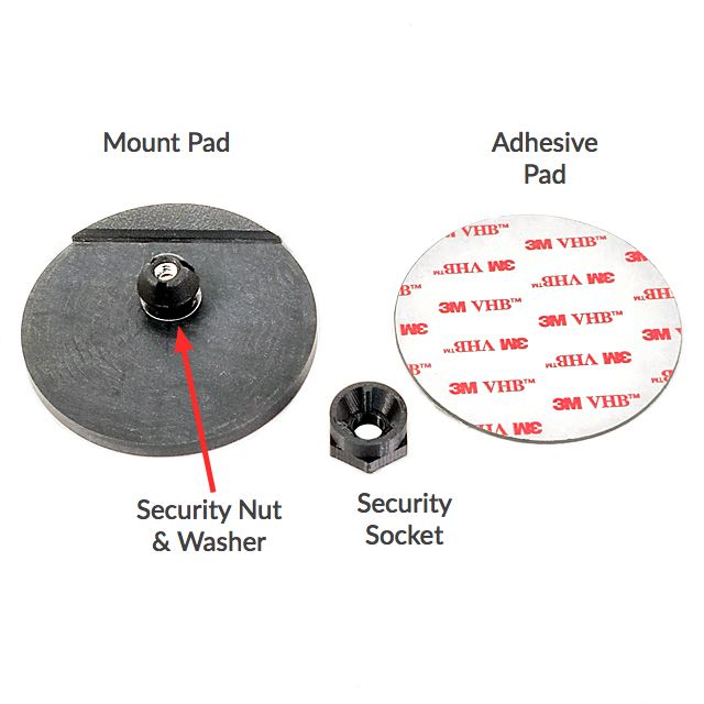 AdPad 301 Secure Mount Diagram