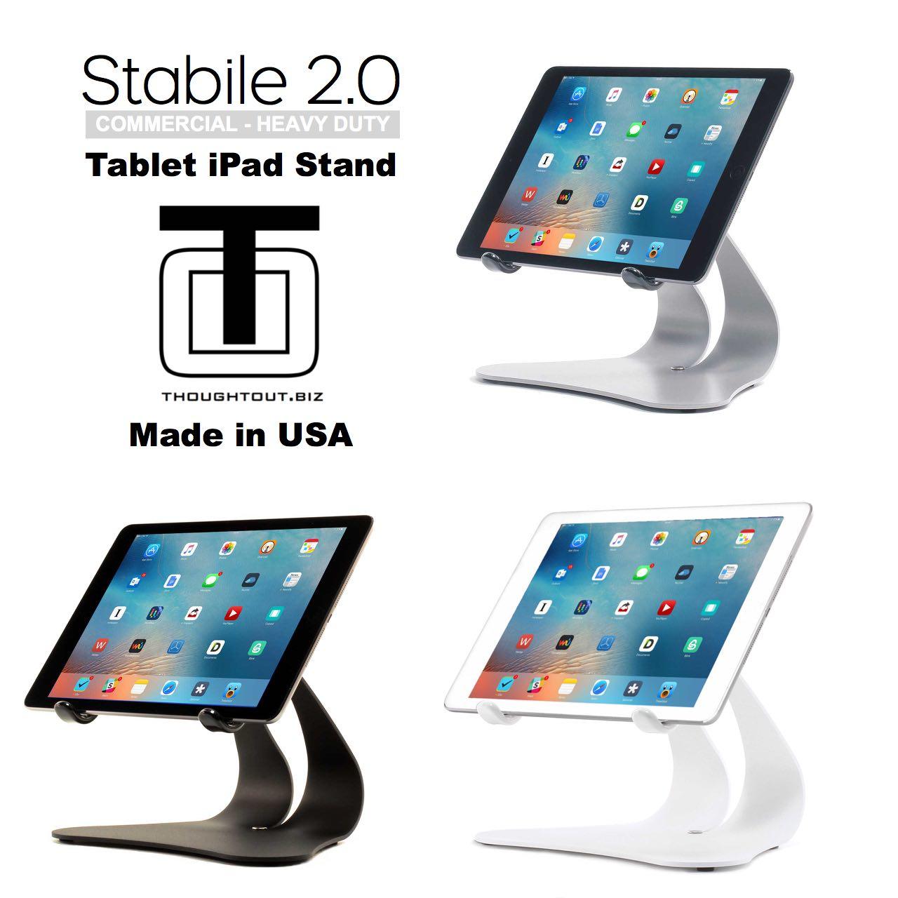 Stabile 2.0 - Silver, Black & White