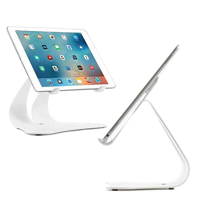White iPad Stand