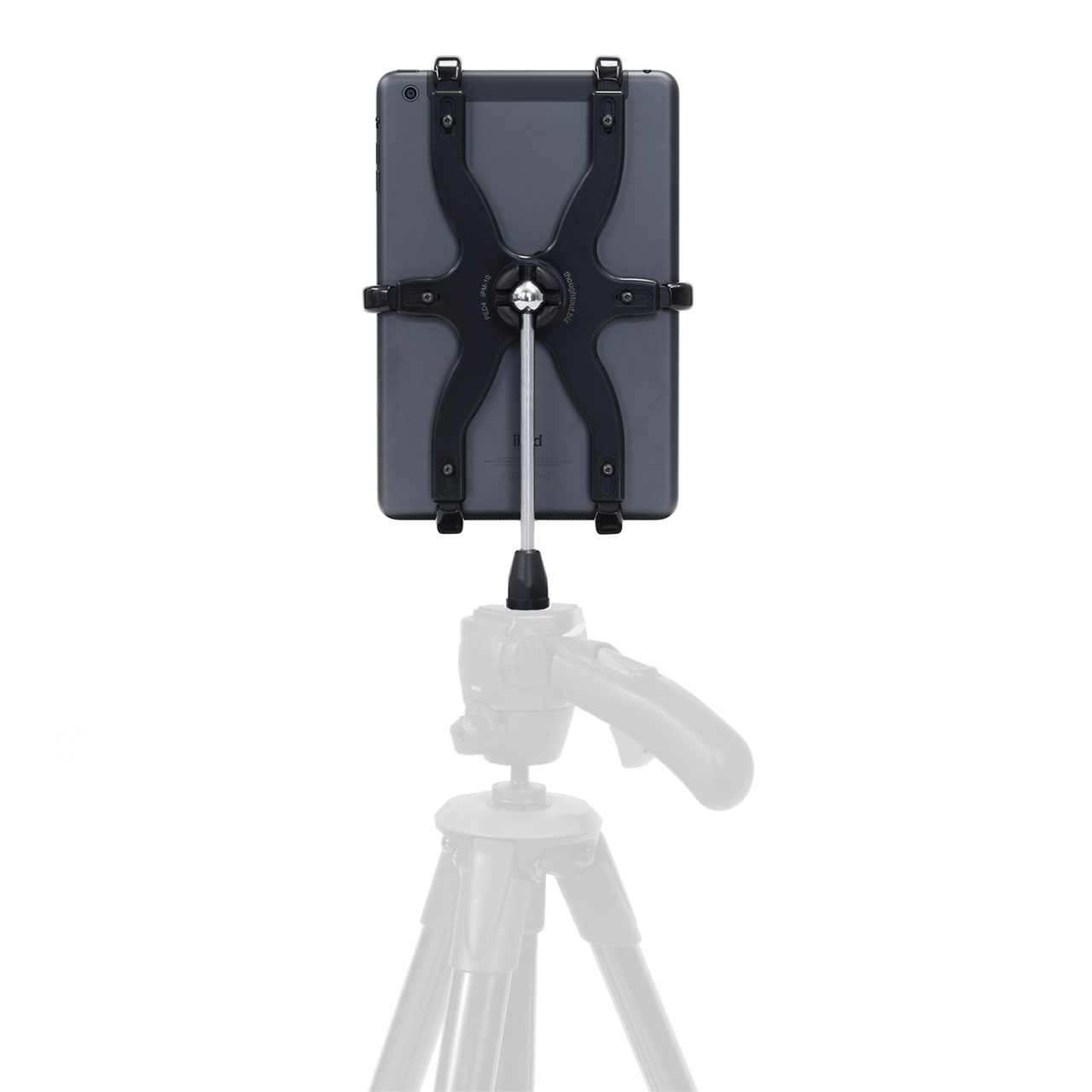 Converts to an iPad mini tripod mount