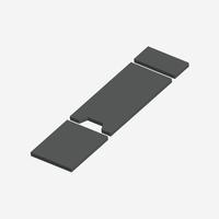 IGC- 7230 - Integra-Gel Series Skytron 6600 Cushion Set