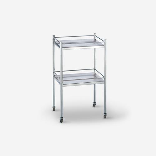 UT - 2100 - 20 x 16 x 33 Stainless Steel Utility Table/Prep Stand w/3 side guardrails & shelf - no drawer