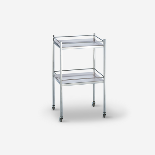 UT - 2100 - 20 x 16 x 33 Stainless Steel Utility Table/Prep Stand w/3 side guardrails & shelf - no drawer