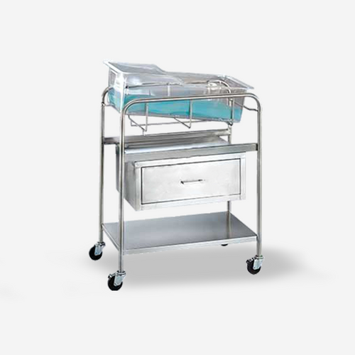 "BS-6420 - Coleman Model Bassinet w/ drawer (no basket) and 4"" casters"