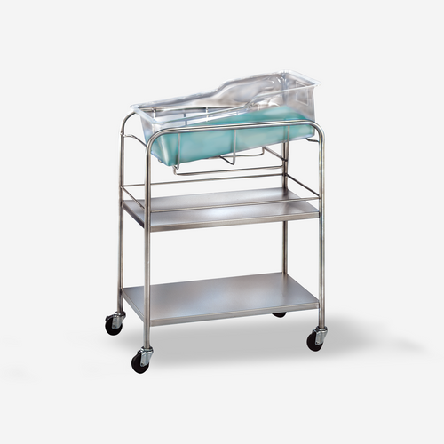 "BS-6200 - Coleman Model Bassinet (no basket) w/ 4"" casters"