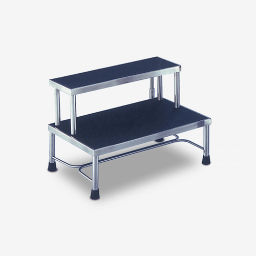 ST-8400  Stainless Steel 2-Step Footstool