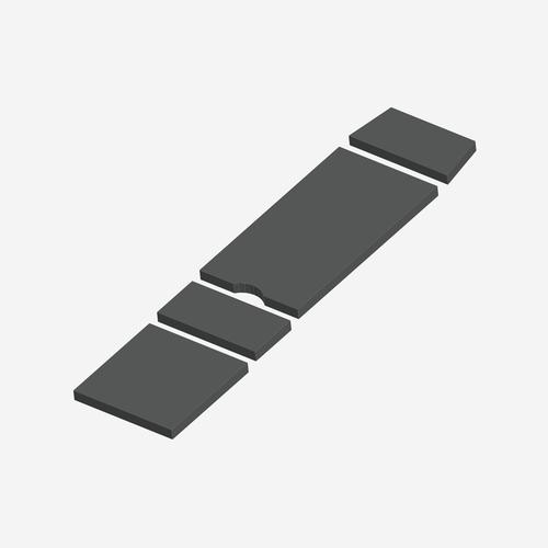 SC- 5380 - Standard Series Maquet 1132 Alphastar Cushion Set