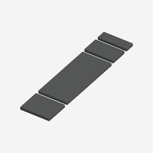 SC- 1420 - Standard Series Shampaine Radi-Op 1000, 1100, 1200 Cushion Set