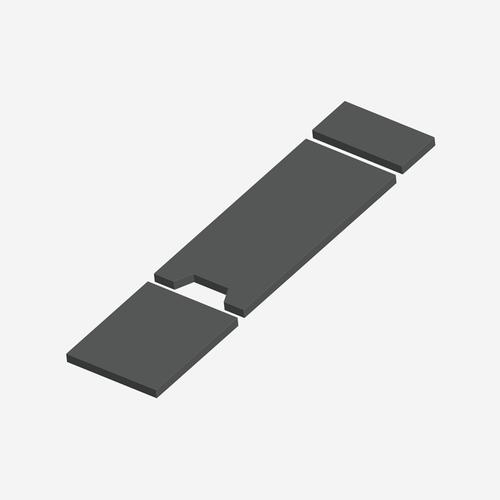 IGC- 7035 - Integra-Gel Series Skytron 3500, 3500B Cushion Set