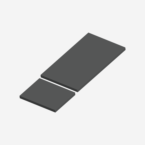 BCS- 1720 - Bariatric Comfort Series Shampaine 2600W (wide leg section) Cushion Set