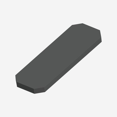 "SP- 5044-A - Standard Comfort Stretcher Pad - 26"" x 78"" All Angle Corner"