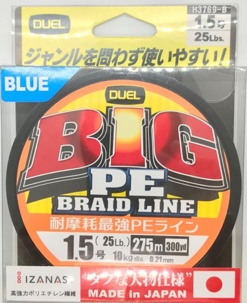 Duel Big PE Braid Line