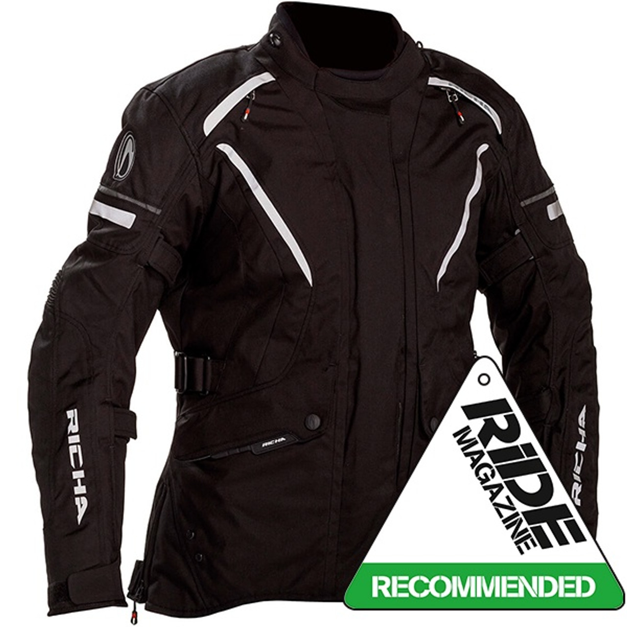 Richa Cyclone Goretex Ladies Jacket - BlackRicha Cyclone Goretex Ladies Jacket - Black