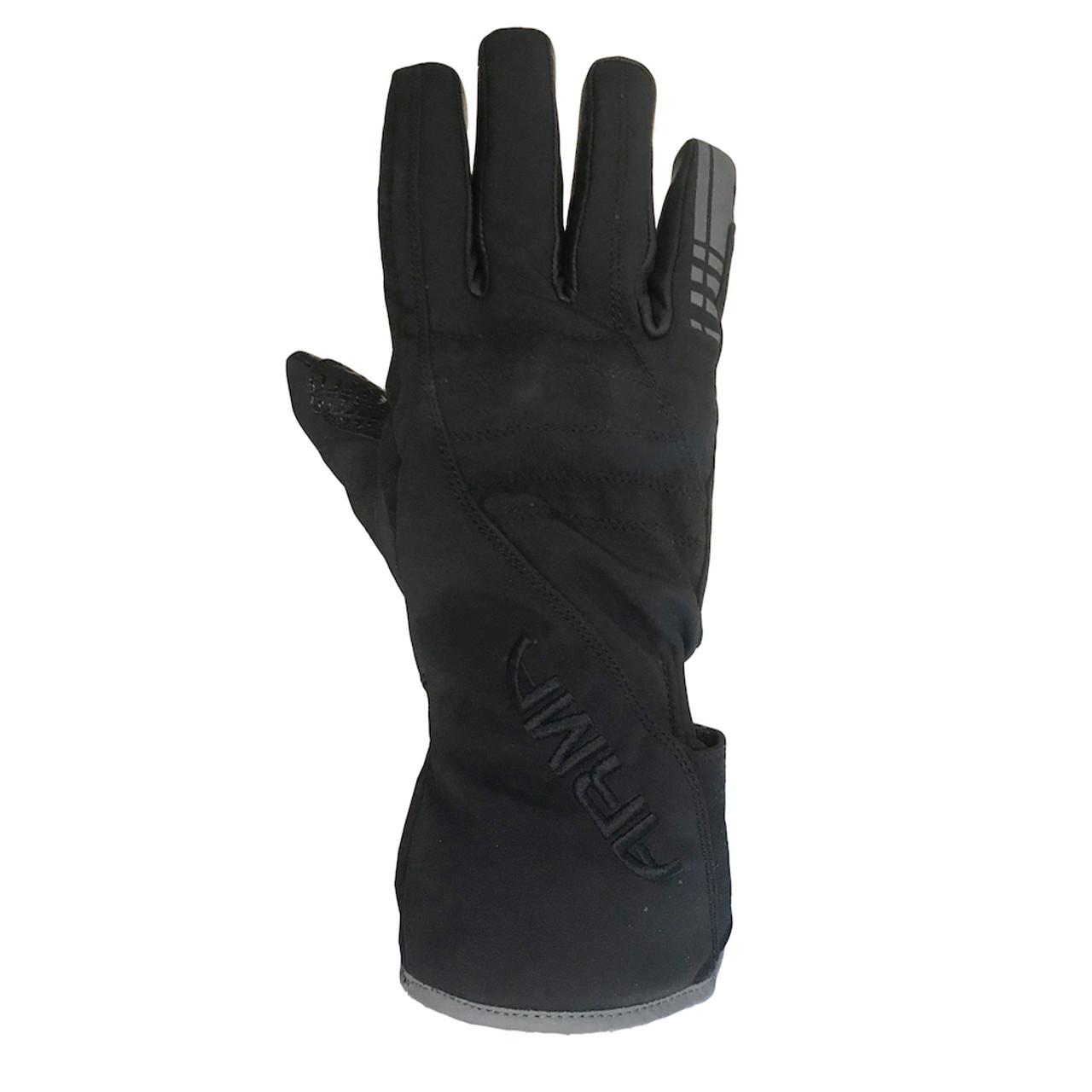 ARMR Kira LWP840 Ladies Waterproof Leather & Textile Gloves - Black