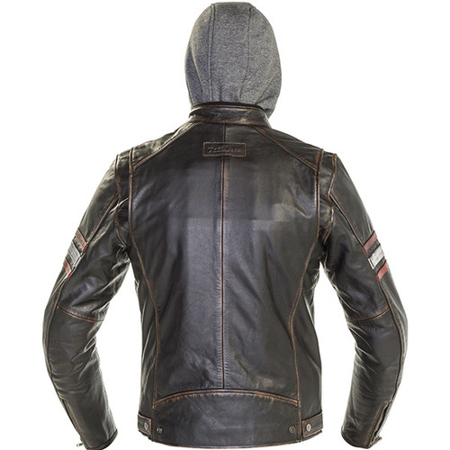 Richa Toulon 2 Men's Leather Jacket - Black / Red