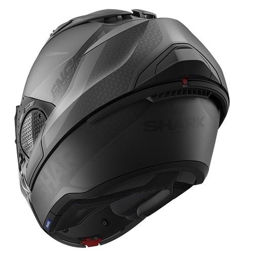 Shark Evo GT Flip Front Helmet Encke KAA - Mat Black / Anthracite