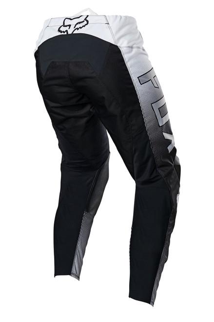 Fox 180 Oktiv Pant - Black / White Rear