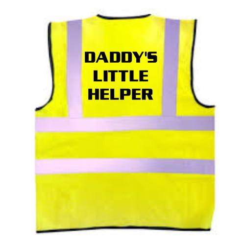 Daddys Little Helper Kids Hi-Vis Vest